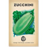 Heirloom Seeds - Zucchini