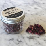 Rose Petals Certified Organic in glass jar 8g