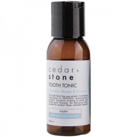Cedar + Stone Tooth Tonic - Chocolate, Orange & Coconut