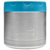 LunchBots Insulated Stainless Steel Container 470ml 16oz - Aqua (New)