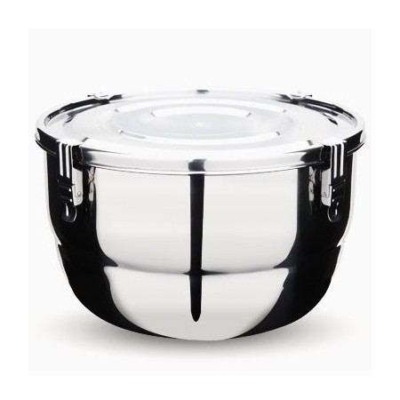 Onyx Stainless Steel Airtight Round Container 18cm 1.75L