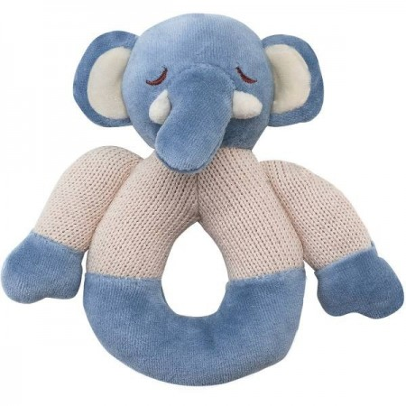 My Nature Knitted Teether - Elephant