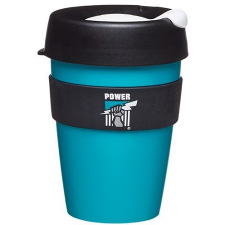 KeepCup Medium Coffee Cup 12oz (340ml) - Port Adelaide Power