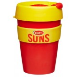 KeepCup Medium Coffee Cup 12oz (340ml) - Gold Coast Suns