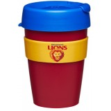 KeepCup Medium Coffee Cup 12oz (340ml) - Brisbane Lions