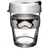 Star Wars KeepCup Medium Glass Cup 12oz (340ml) - Stormtrooper