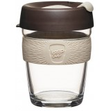 KeepCup Medium Glass Cup 12oz (340ml) - Roast