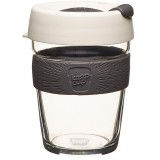 KeepCup Medium Glass Cup 12oz (340ml) - Milk