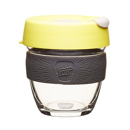 KeepCup Small Glass Cup 8oz (227ml) - Honey