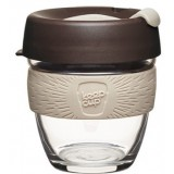 KeepCup Small Glass Cup 8oz (227ml) - Roast