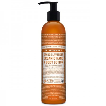 Dr. Bronner's Hand & Body Lotion 237ml - Orange Lavender