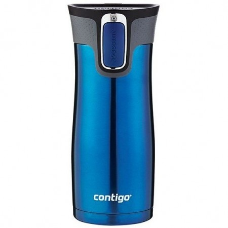 Contigo 470ml Insulated Stainless Steel west loop 2.0 mug - monaco blue