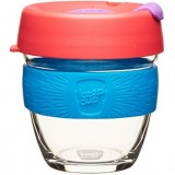 KeepCup Small Glass Cup 8oz (227ml) - Hibiscus
