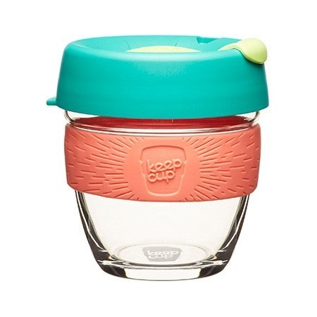 KeepCup Small Glass Cup 8oz (227ml) - Fennel