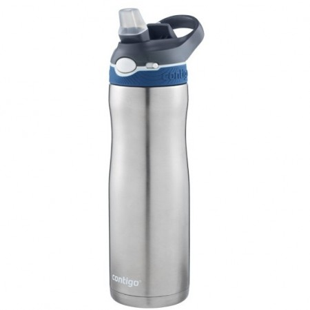 Contigo Autospout Chill Insulated Stainless Steel Water Bottle 20oz (590ml) - Ashland Monaco