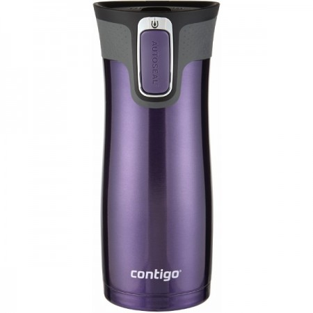 Contigo Insulated Stainless Steel West Loop Mug 16oz (470ml) - Violet