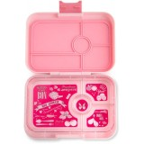 Yumbox Lunch Box - Tapas 4 Compartment Amalfi Light Pink