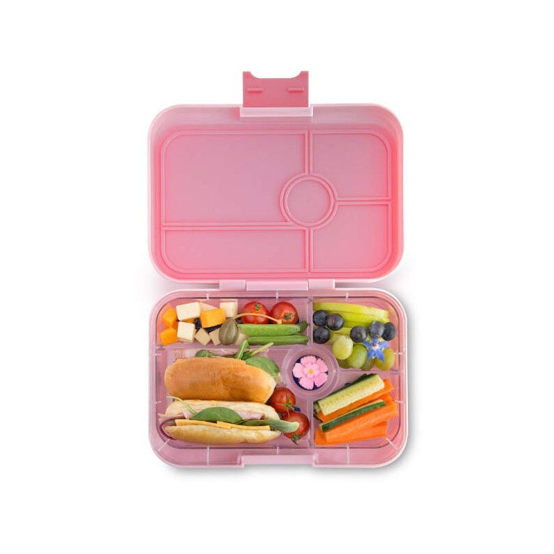 Yeti Cup Prices >> Yumbox Lunch Box - Tapas 5 Compartment Amalfi Light Pink ...