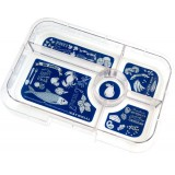 YumBox Tapas 5 Section Interchangable Tray - Bon Appetit