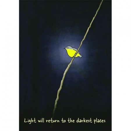 Paula Peeters Wildlife Greeting Card Light Will Return