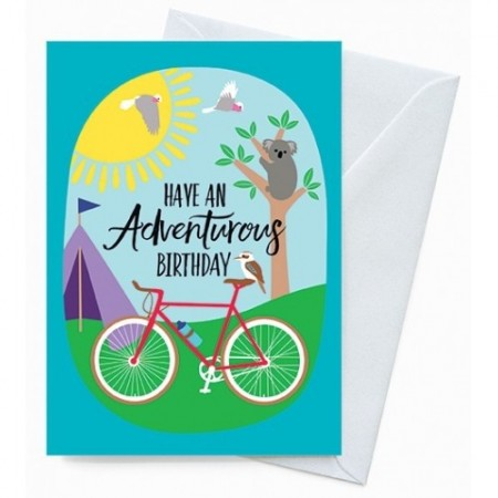 Earth Greetings Card - Adventurous Birthday