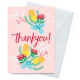Earth Greetings Card- Thankyou Blush