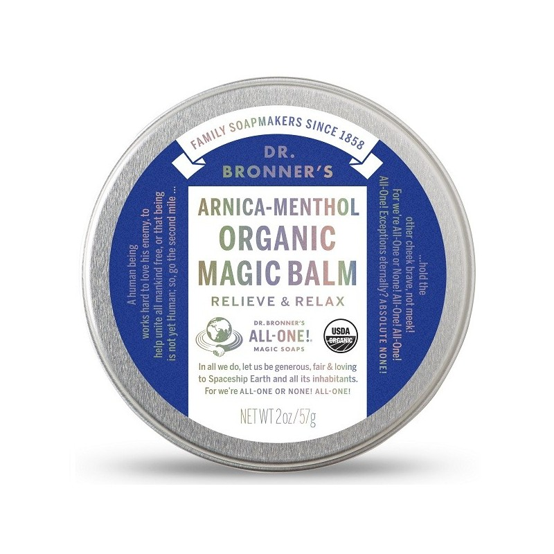 Dr  Bronner's Magic Balm - Arnica-Menthol - Biome Eco Stores