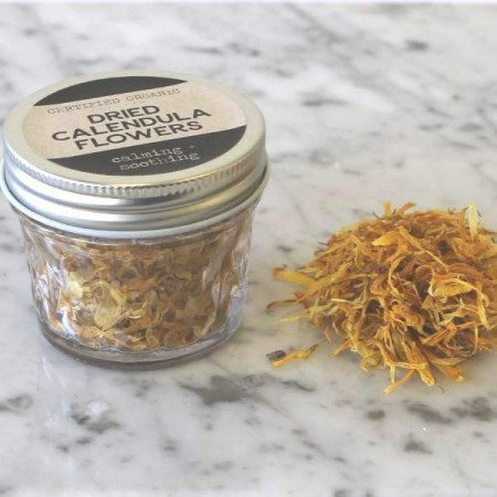 Calendula Flowers Organic Glass Jar 8g