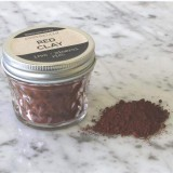Red Clay in Glass Jar 50g