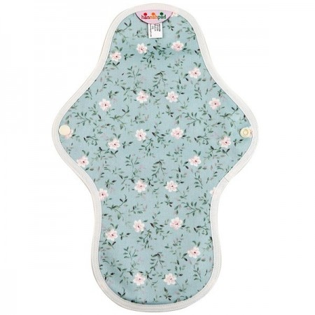 Hannahpad Medium Cloth Pad - Blue Edelweiss with Grip