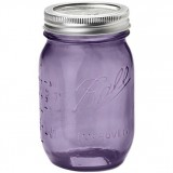 Ball mason jar Pint 475ml regular mouth limited edition purple
