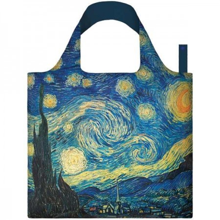 Loqi Reusable Shopping Bag - Van Gogh Starry Night