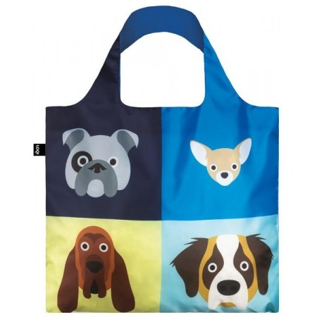 Loqi Reusable Shopping Bag - Stephen Cheetham Dogs