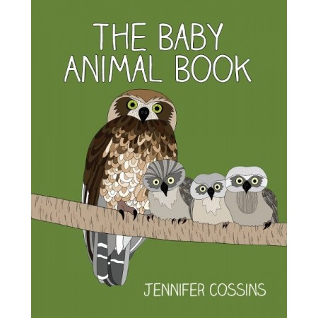 The Baby Animal Book - Hardback