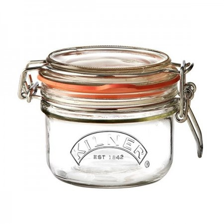 Kilner Round Clip Top Storage Jar 125ml