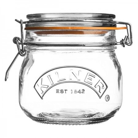 Kilner Round Clip Top Jar 500ml