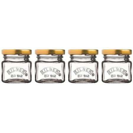 Kilner Mini Jars 55ml Set of 4