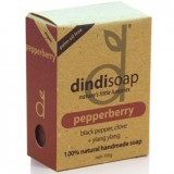 Dindi Palm Oil Free Soap 110g - Pepperberry
