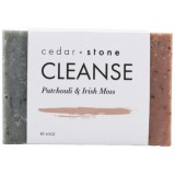 Cedar + Stone Cleanse Bar Patchouli  & Irish Moss