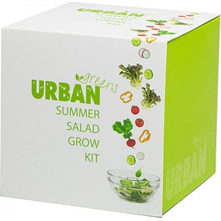 UrbanGreens Grow Kit Cube - Summer Salad