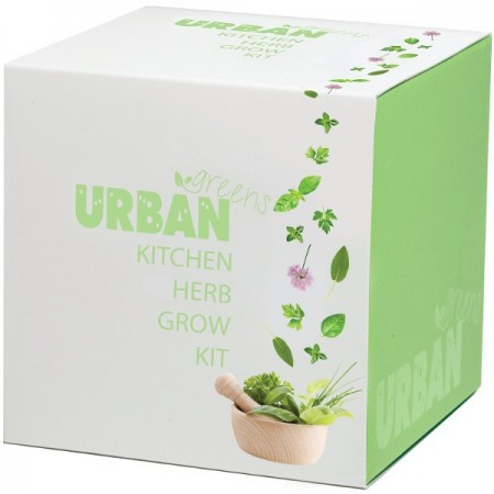 UrbanGreens Grow Kit Cube - Kitchen Herbs