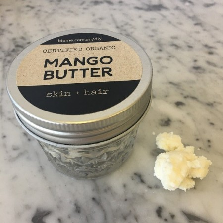 Mango Butter Certified Organic in Glass Jar 50g