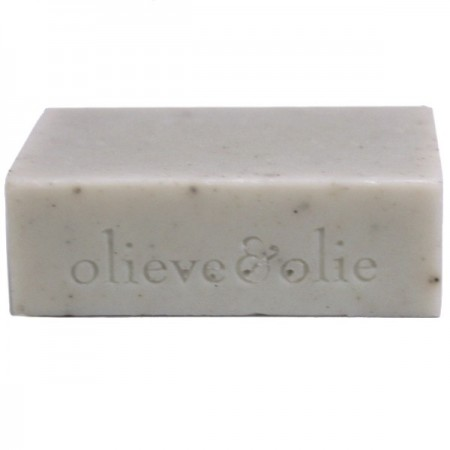 Olieve Soap Bar 80g - Blue Gum, Cedarwood & Bentonite Clay (unpackaged)