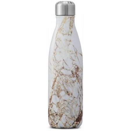 S'Well Calacatta Gold 500ml Insulated Stainless Steel Bottle
