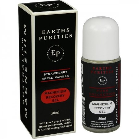Earths Purities Magnesium Recovery Gel - Strawberry, Apple & Vanilla