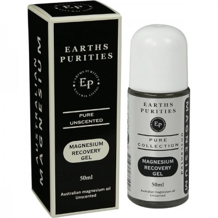 Earths Purities Magnesium Recovery Gel - Pure Unscented