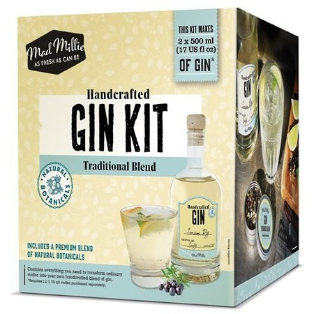 Mad Millie Handcrafted Traditional Gin Kit