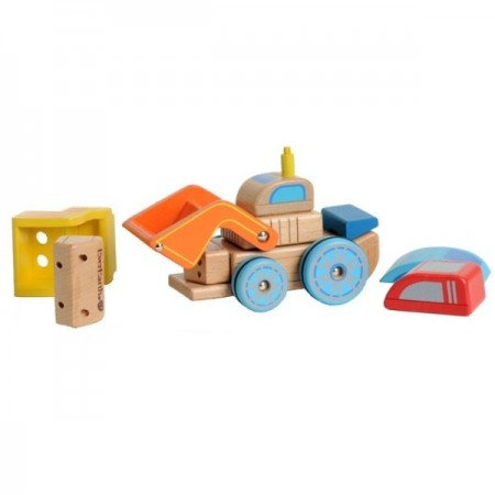 EverEarth Wooden Interchangeable Car