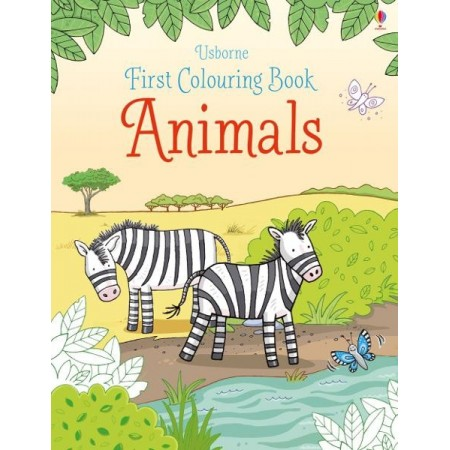 First Colouring Book: Animals