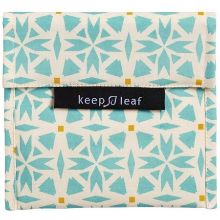 Keep Leaf Large Reusable Baggie - Geo